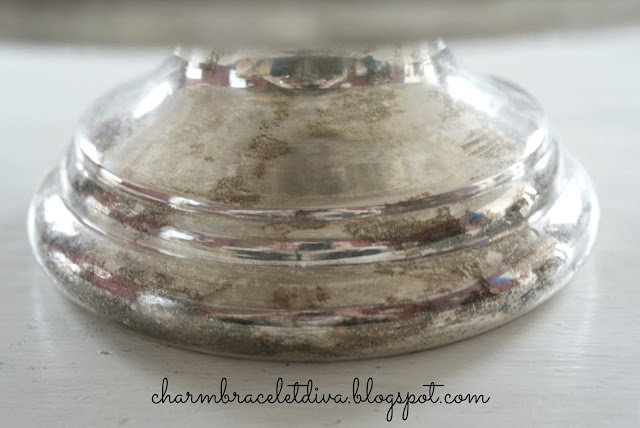 base silver cake stand