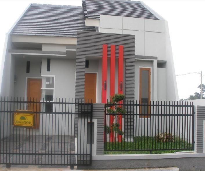 model rumah kecil sederhana 2