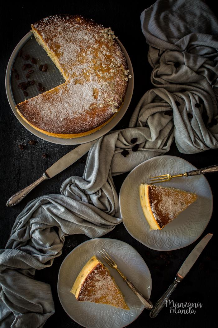 Sernik: tarta de queso polaca.