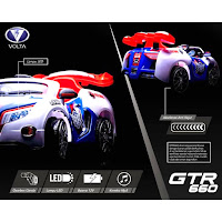 volta gtr 660 battery powered ride on toy car