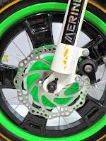 Sepeda Anak Merino Motocross 16 Inci Green