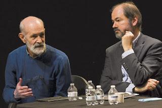 Luis de Tavira y Juan Villoro presentaron el Movimiento Teatro por la Dignidad.