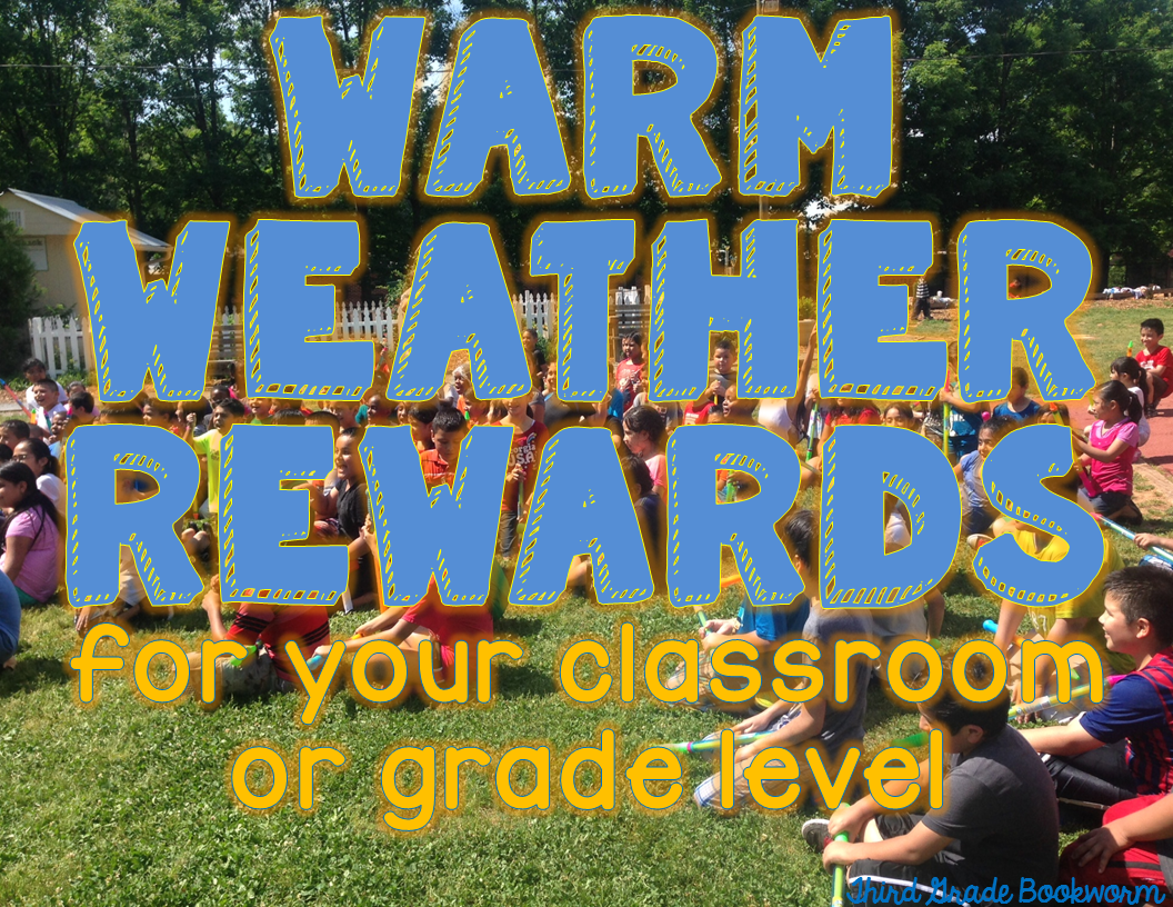 Warm Weather Rewards for your elementary classroom!
