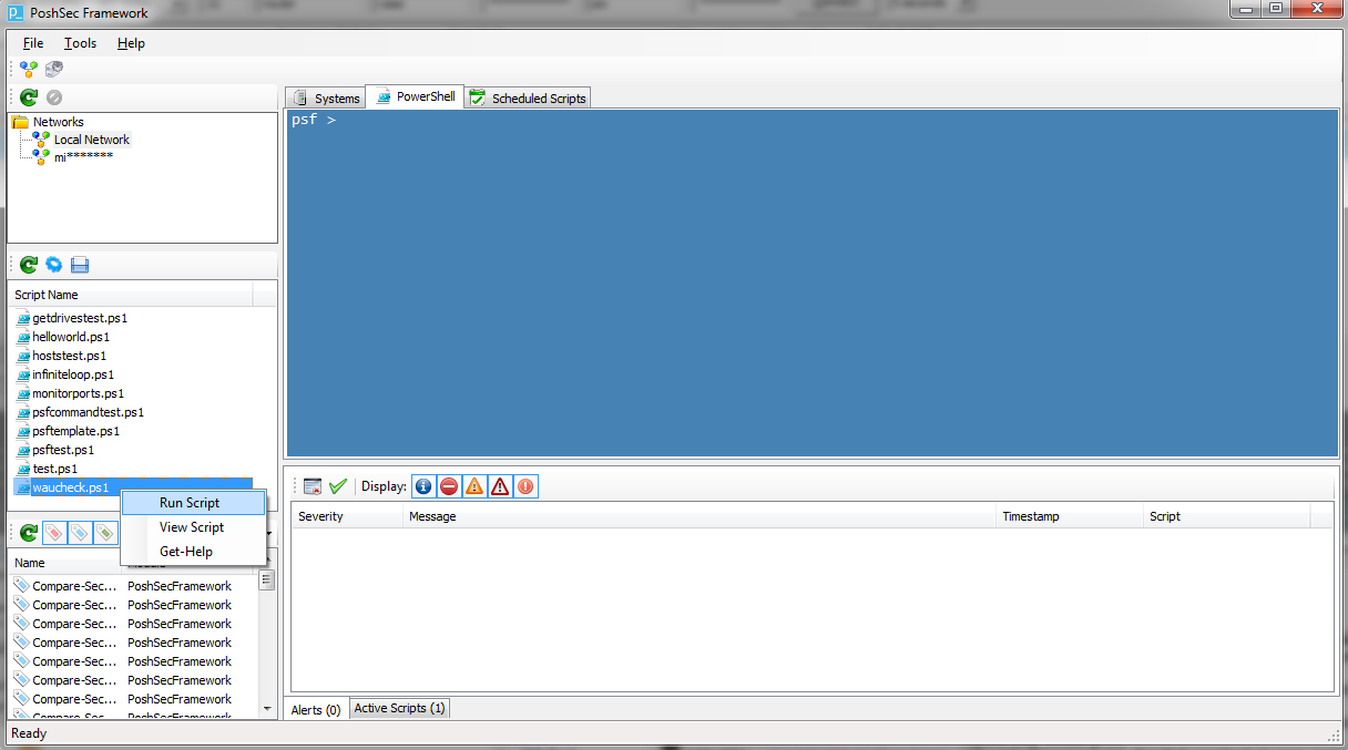 PoshSec Framework Snapshot