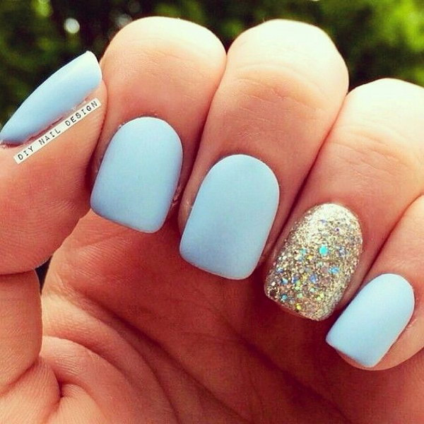 50 Pretty Matte Nail Designs - Pccala