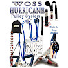 WOSS Hurricane Pulley Trainer Made in USA - 1/2in System (BLUE)