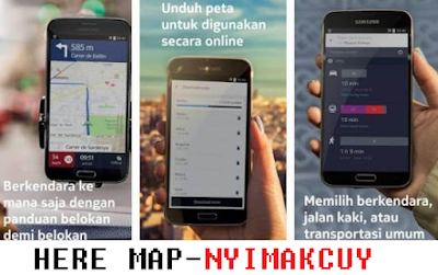 HERE MAP GPS FOR ANDROID