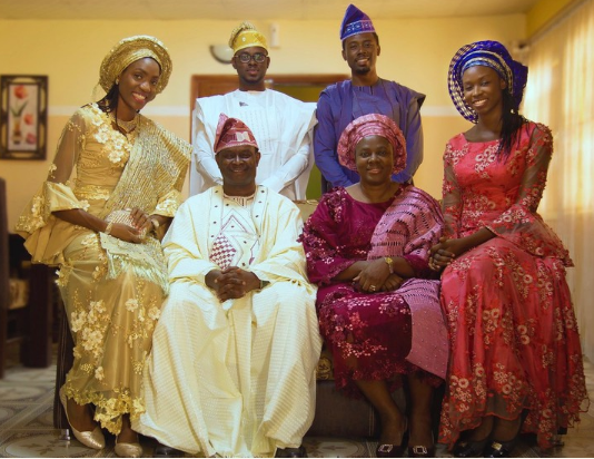 So Beautiful! Mike Bamiloye Celebrates Easter With Family Photo