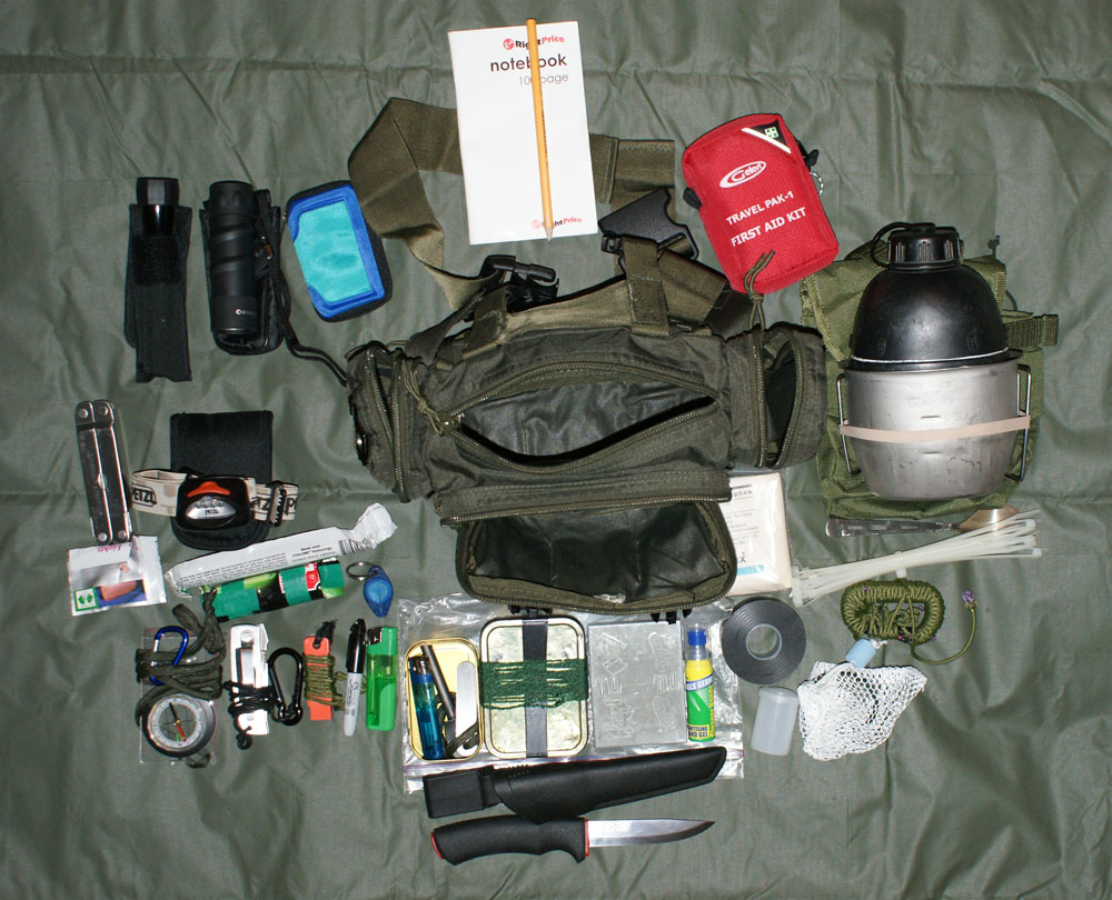 How To Store Food In A Bug Out Bag