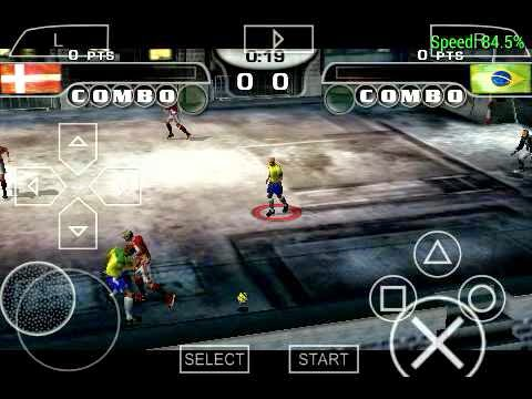 Download Fifa Street 2 PSP Android