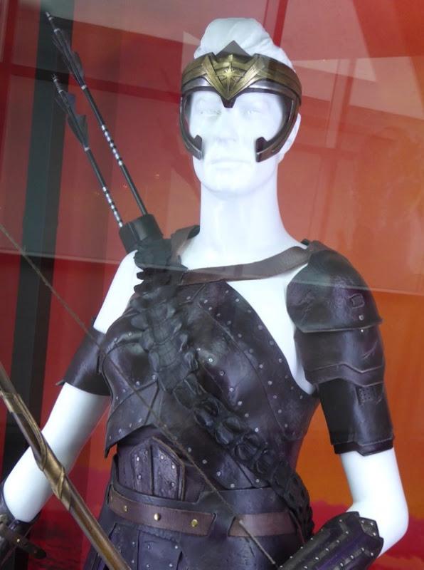 Antiope Wonder Woman costume detail