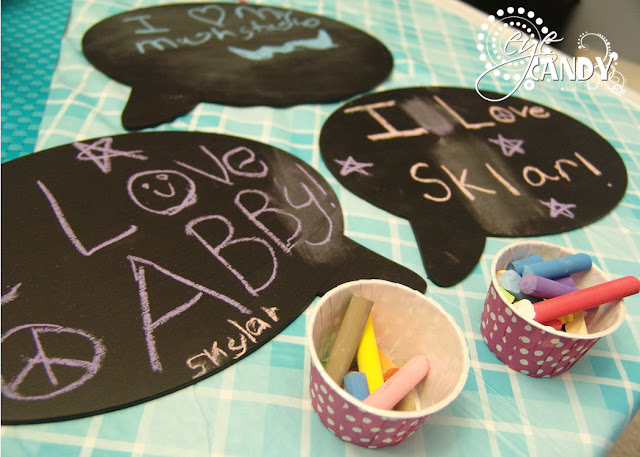peace party chalkboards