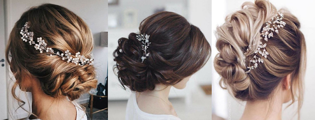 penteado preso para noivas