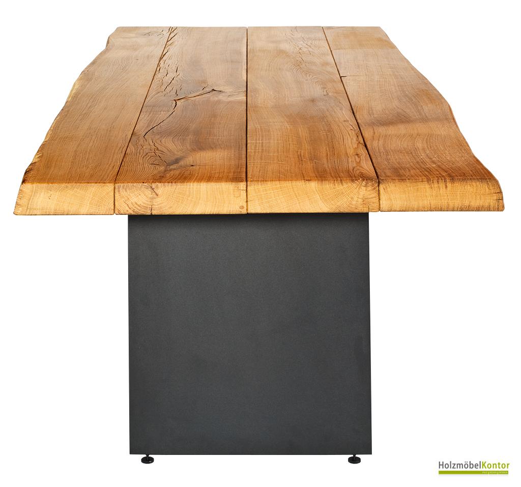 wohnkantine wohnideen vom holzm belkontor eichentisch. Black Bedroom Furniture Sets. Home Design Ideas