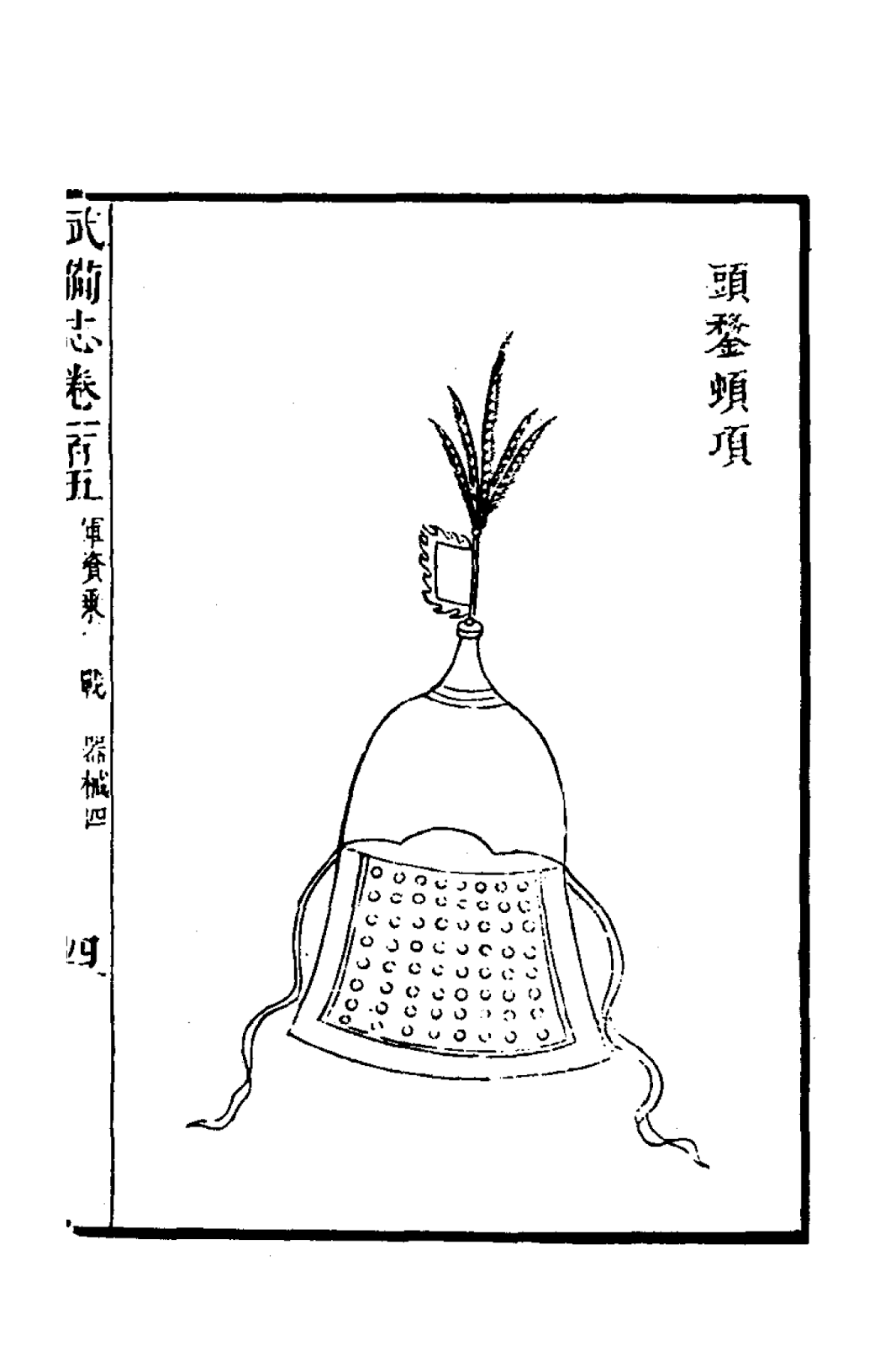 Ming Helmets From Military Treatise Wu Bei Zhi