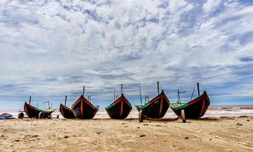 Album hình ảnh đẹp: Cận cảnh vẻ đẹp của vùng biển Hải Hậu thành Nam