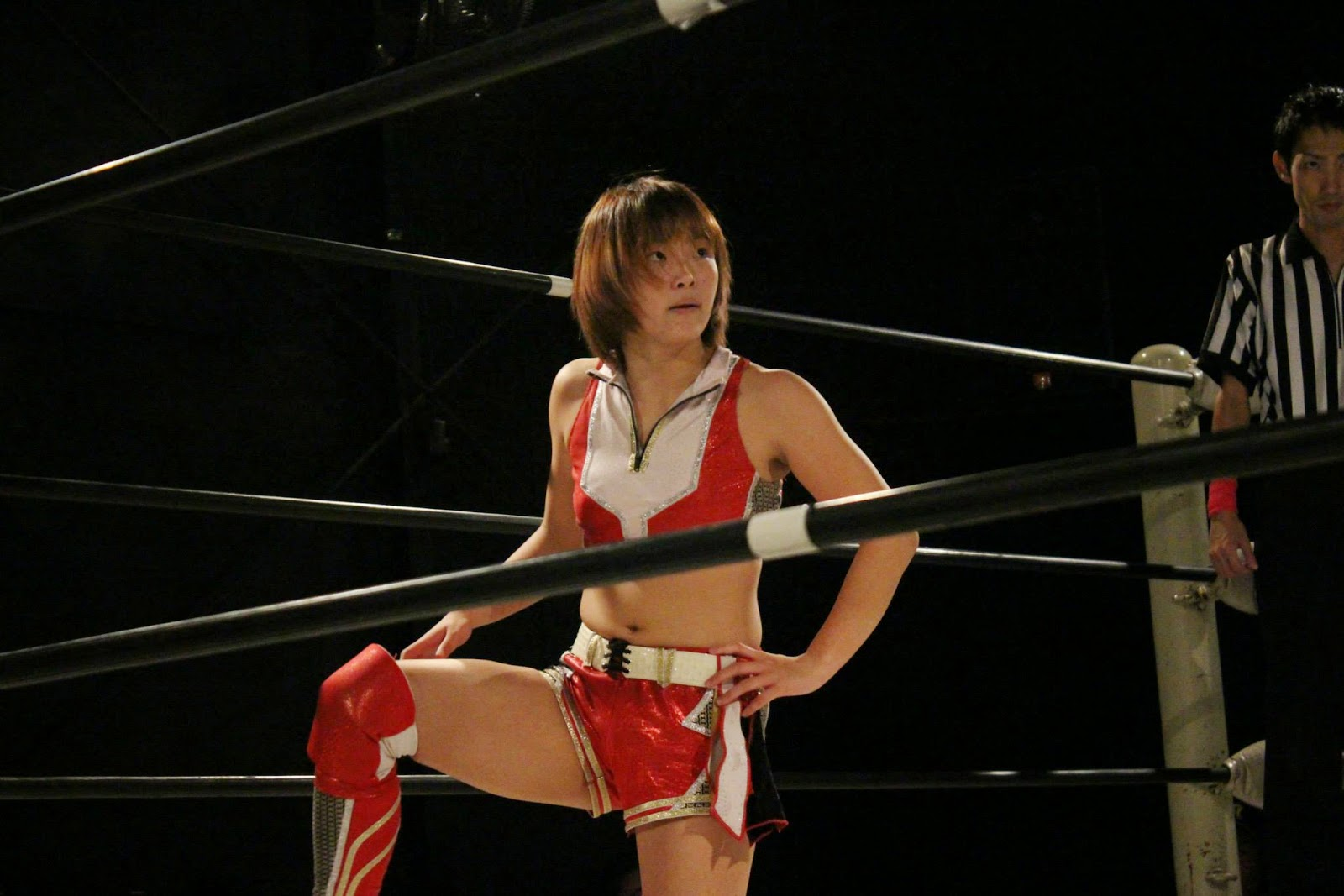 Falcon Joshi Blog: Hikaru Shida v Sareee in Ice Ribbon