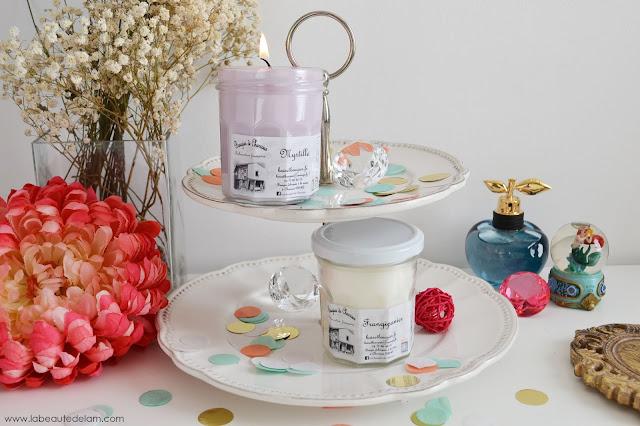 la beaut de l m blog beaut bien tre culture et gourmandise les bougies de charroux. Black Bedroom Furniture Sets. Home Design Ideas