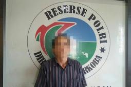 Asyik Hisap Sabu, Tukang ojek Diciduk Polisi