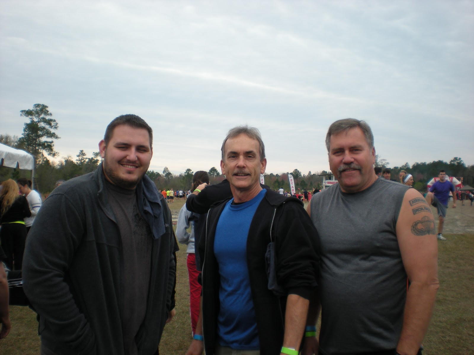 Stuart, Me, And My Cousin Rick (Stuartu0027s Dad) This Is How We Looked Before  The Mud.