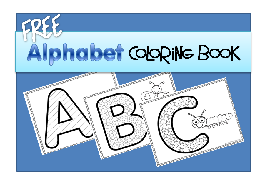 alphabet coloring pages - Alphabet Coloring Book