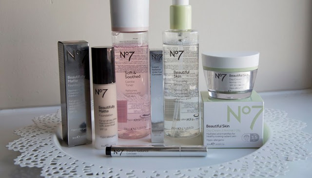 no 7 skin care products at target