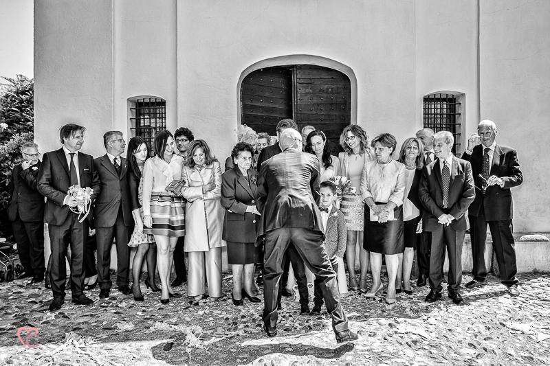 Matrimonio di Alessia e Fabio, gruppi