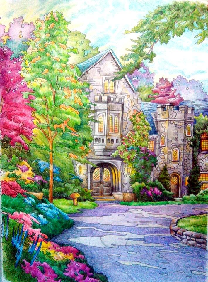 Kolorista Posh Coloring Book