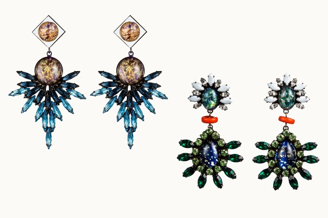 Below Are Two Inspiring Sets Of Earrings By Dannijo They Run 350 To 400 So Fabulous And Pretty I Just Want Eat Them