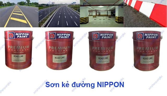 Sơn kẻ đường Nippon