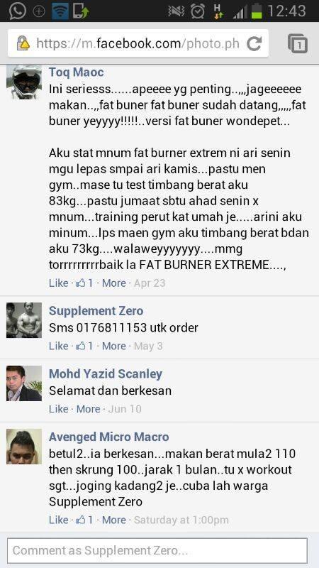 Fatburner Sapu