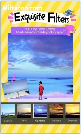 Aplikasi Photo Editor Android Camera360 Apk Terbaru