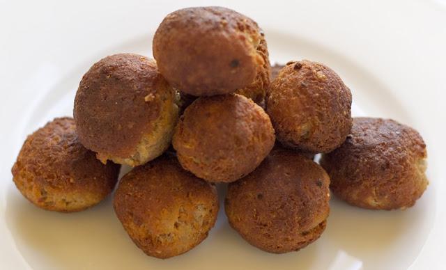 potato paneer balls
