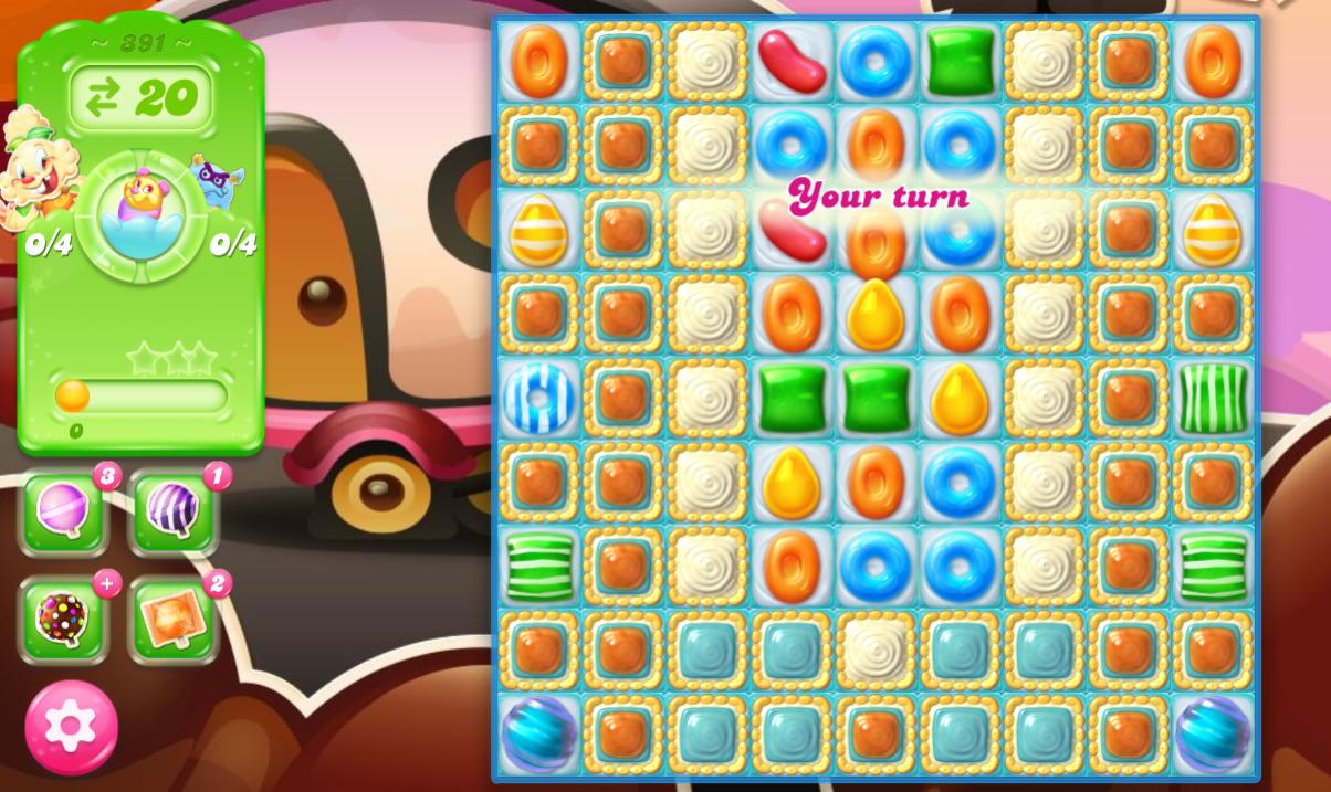 Candy Crush Jelly Saga 391