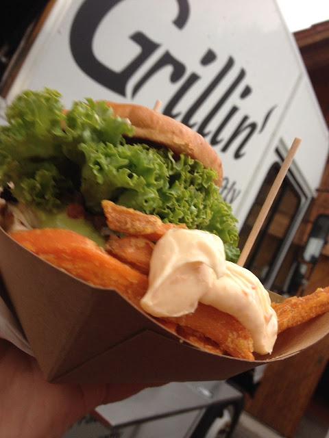 Burger Foodtruck für Party buchen
