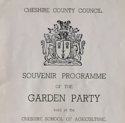 Cheshire School of Agriculture 1953