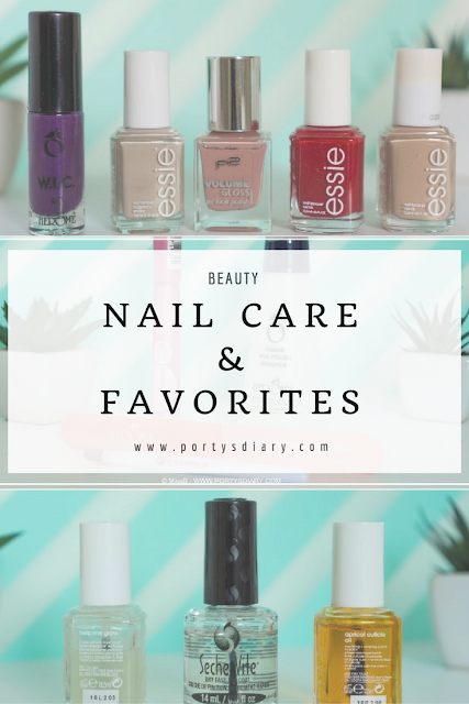 Nail Care Routine and favorites| Porty's Diary features Herôme - Lisbon, Essie - Sand Tropez, P2 - Cute Girl Essie - a list, Essie - all eyes on nudes
