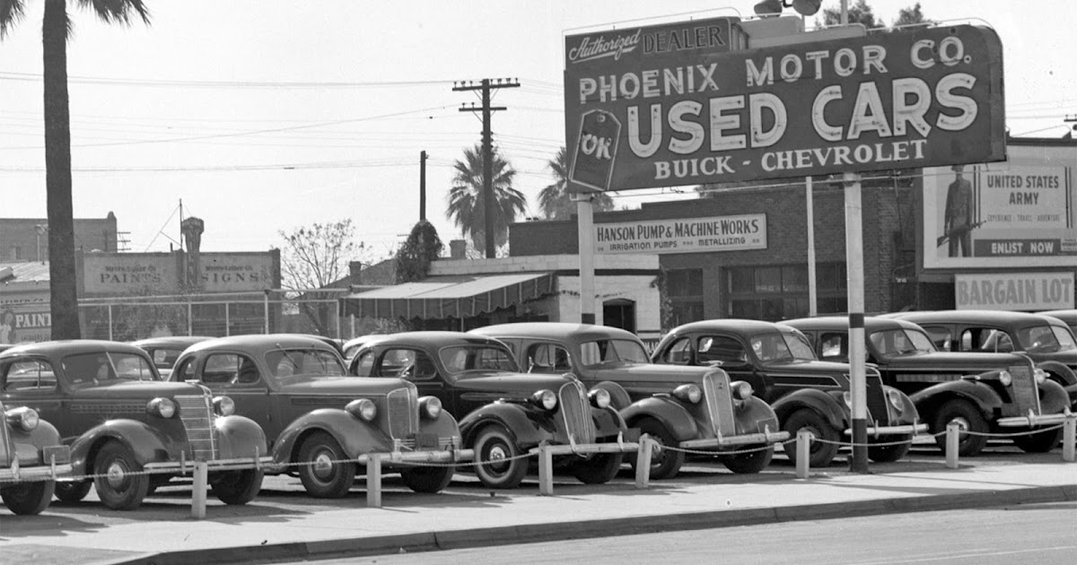 History Adventuring: Buying A Used Car From The Phoenix