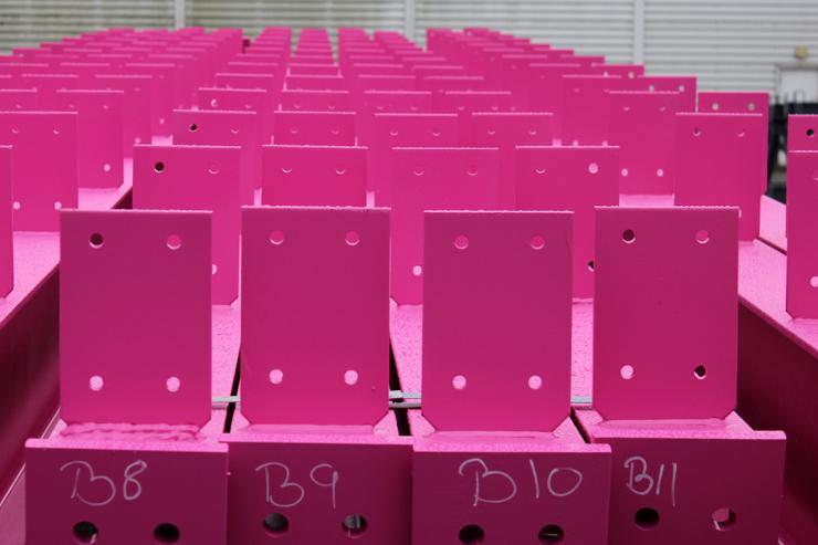 Розовый двутавр