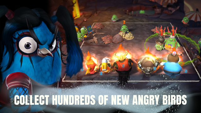 Tampilan Game Angry Birds Evolution