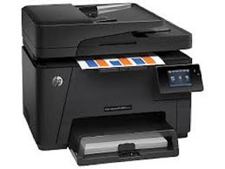Picture HP Color LaserJet Pro MFP M177fw Printer