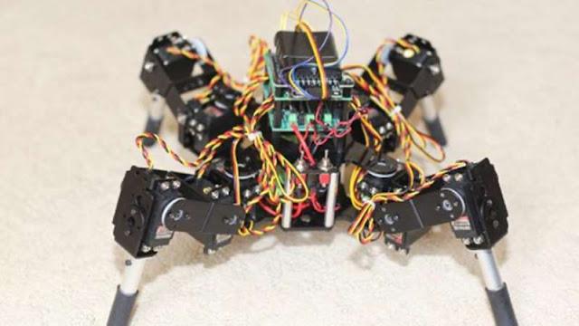 Robô é ensinado a andar através de cérebro neandertal artificial