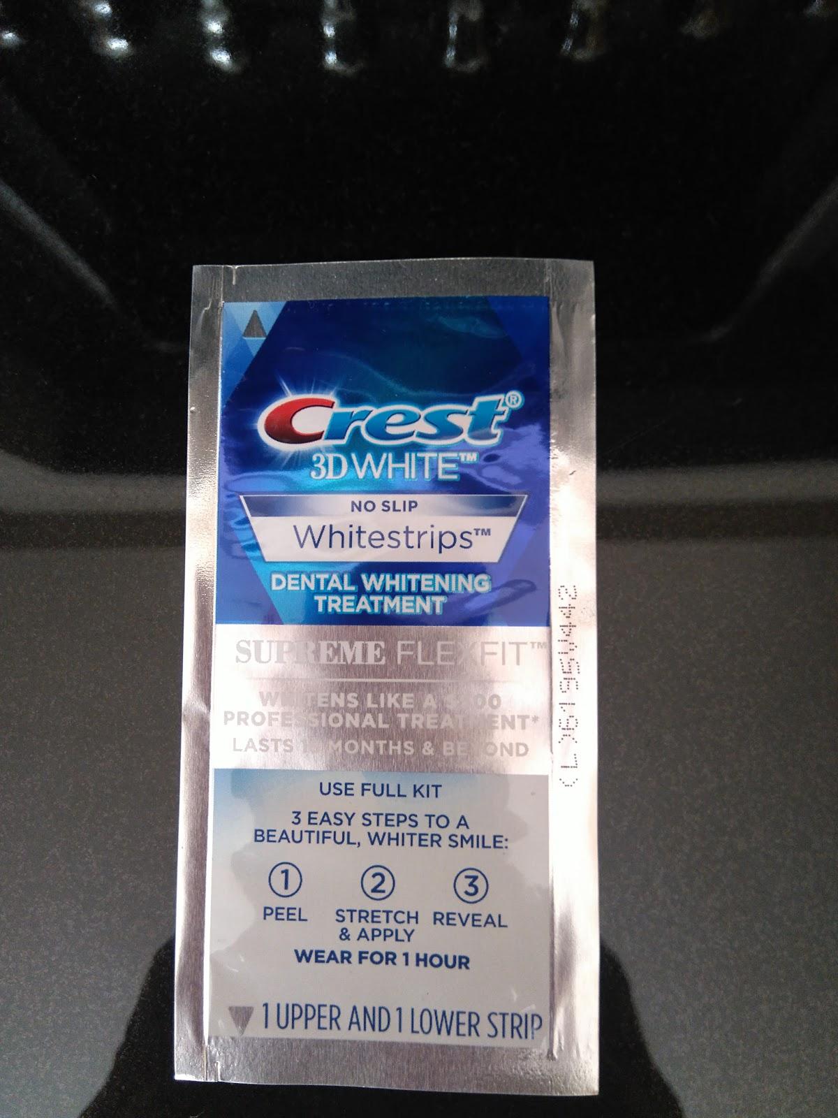 Sassys World Crest 3d Whitestrips Supreme Flexfit Teeth Whitening