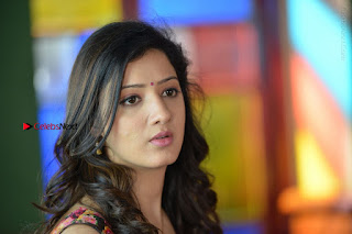 Actress Richa Panai Stills in Half Saree at Rakshaka Bhatudu Sets  0020.JPG