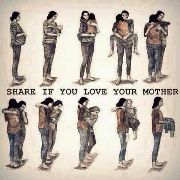 SHARE IF YOU LOVE YOUR MOTHER