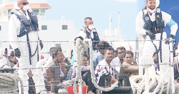 REGGIO CALABRIA. Sbarcati 119 migranti (VIDEO)
