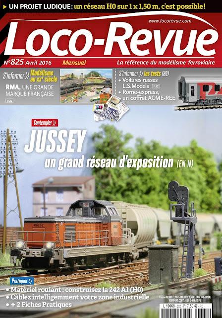 Loco Revue N°825 - avril 2016