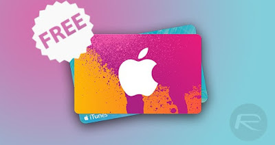 free itunes gift card 2018