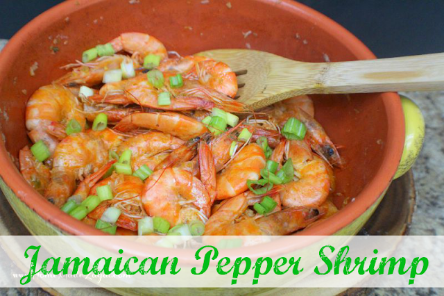 A Jamaican street food delicacy made of whole shrimp, marinated in hot pepper marinade then cooked to perfection.