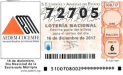 número del primer premio de hoy en la loteria nacional